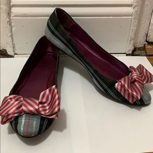 """Coach Poppy """"Cambria"""" Bow Flats size 9 Style Q1003"""